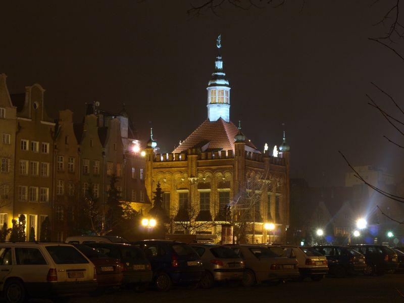 Oglądasz fotografie z Galerii Gdańsk nocą